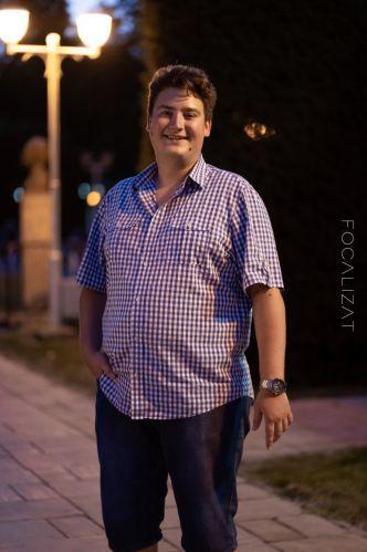 Night-time photoshoot cu Alex C.