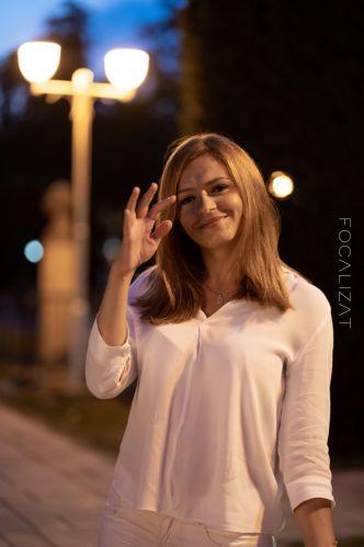 Night-time photoshoot cu Diana M.