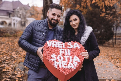 Cerere în căsătorie - fotografie logodna